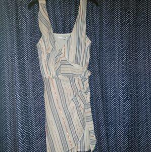 Guess Dress XL Rose Gold Striped